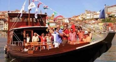 Ride on a Rabelo in Porto