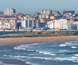 Santander seen from Somo Beach